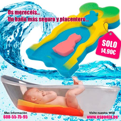 Esponja de baño para bebes - seguridad y confort - Productos en venta YUNCOS