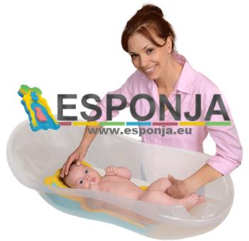 Esponja .EU - Esponjas de seguridad y confort para el baño de nuestros bebes