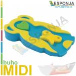 Esponja almhoadilla de baño para bebes tipo Búho - Modelo MIDI