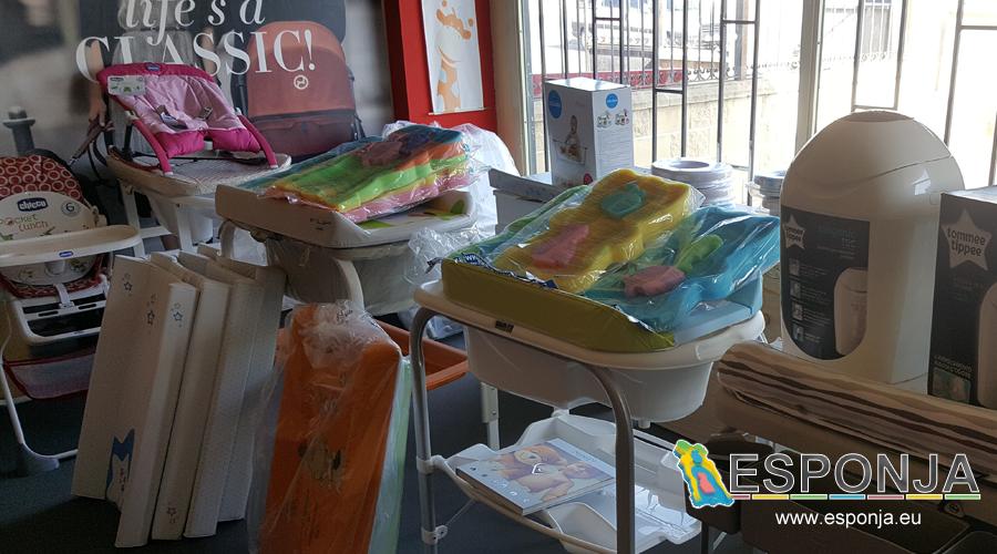 Tiendas de bebes que venden esponjas bañeras almhoadas de baño para bebes y recien nacidos